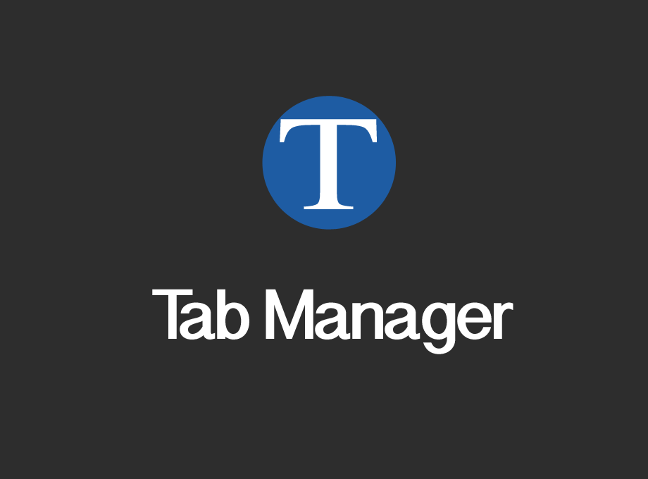 Tab Manager Extension